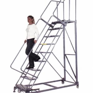 Walk Down Rolling Ladders