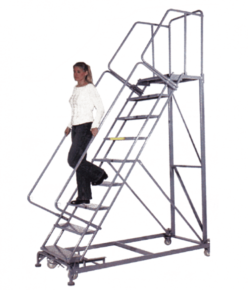 Walk Down Rolling Ladders