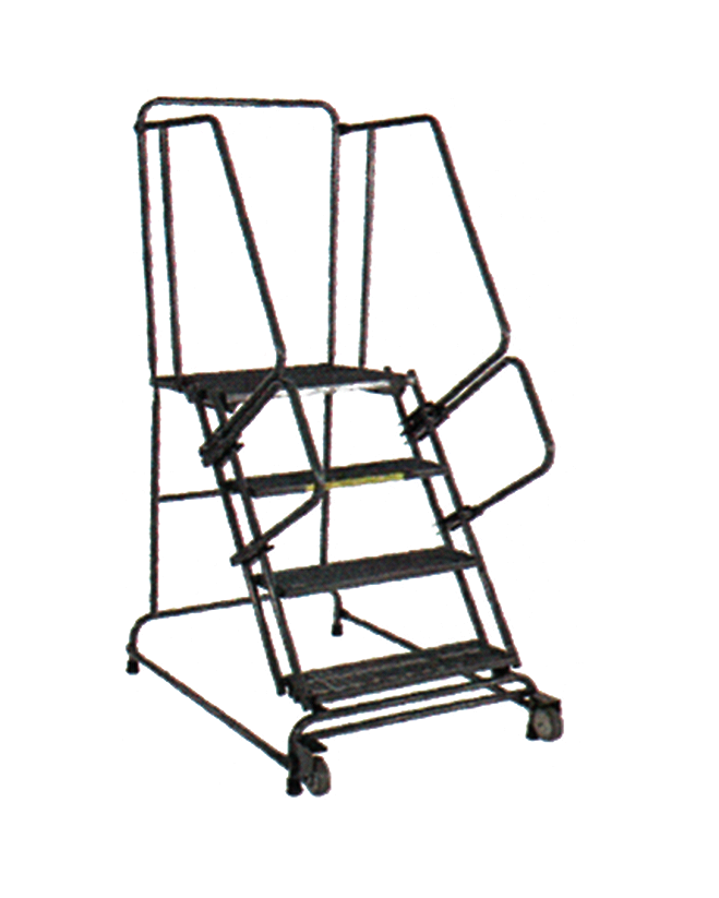 Tilt And Roll Ladder Unassembled
