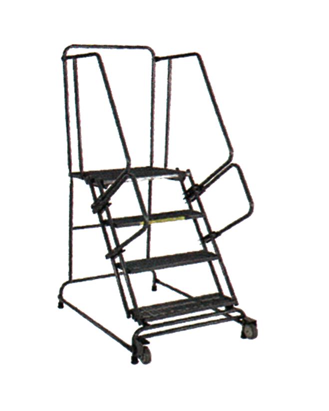 Tilt And Roll Ladder Unassembled Factory Equipment