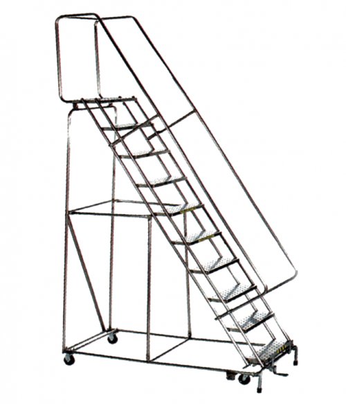 Stainless Steel Lockstep Ladder