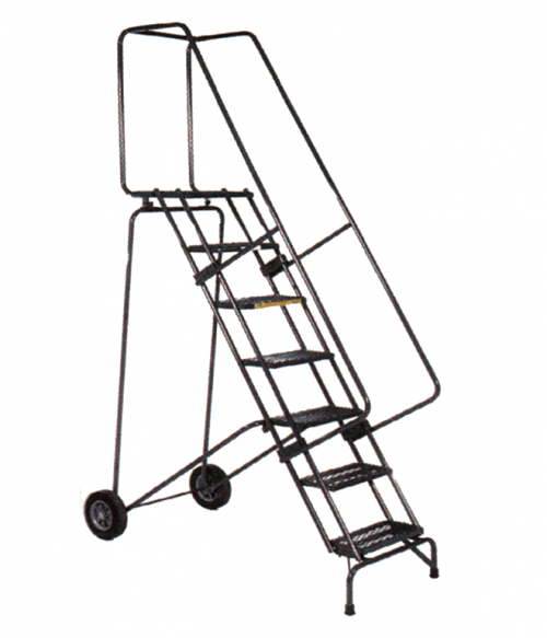 Stainless Steel Fold And Store Ladder