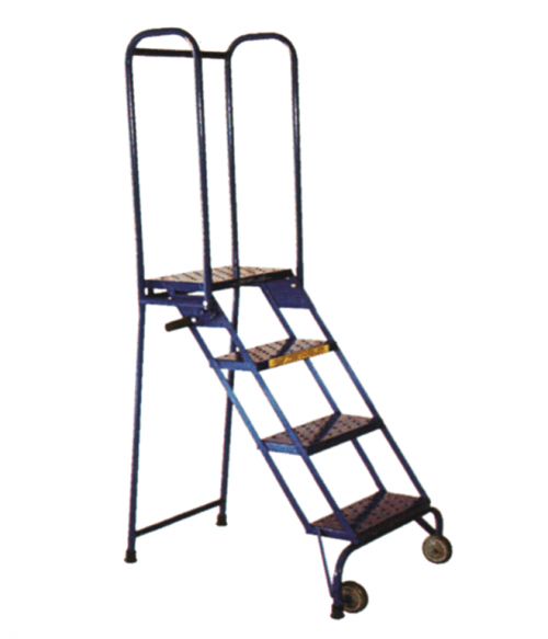 Aluminum Tilt And Roll Ladder