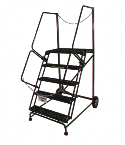 Trailer Access Ladder 50 Degree Slope