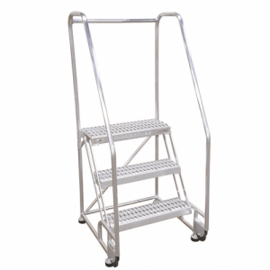 Cotterman Tilt And Roll Aluminum Ladder