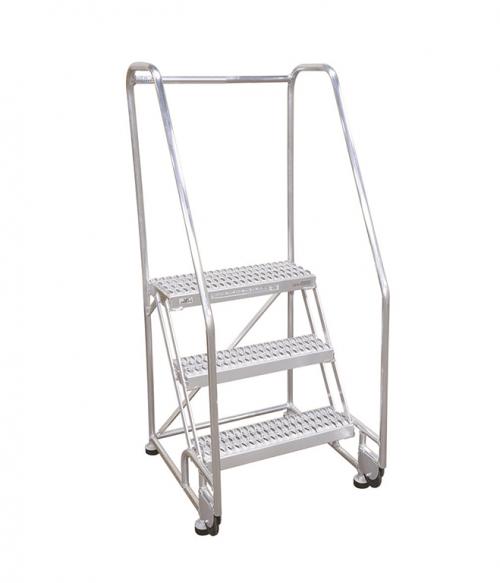 Cotterman Tilt And Roll Aluminum Ladder