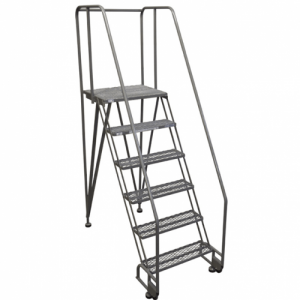 Tilt and Roll Rolling Ladders