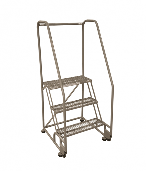 Cotterman Tilt And Roll Steel Ladder Factory Equipment