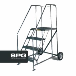 Truck & Maintenance Ladder With Chain Crossbar