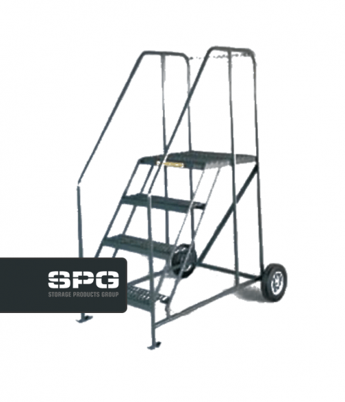 Truck & Maintenance Ladder With Chain Crossbar