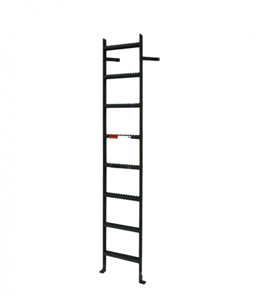 Aluminum Vertical Ladder Without Rail Extensions