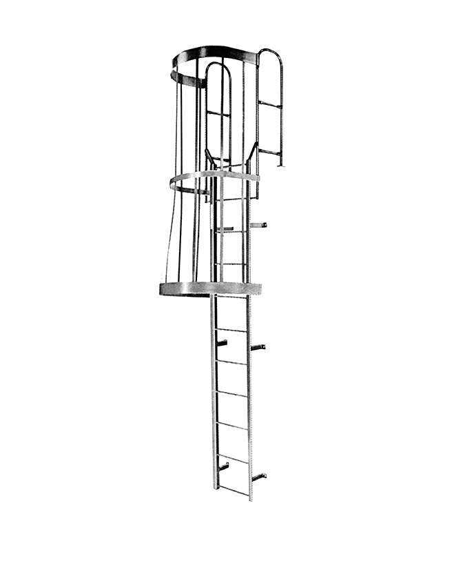 Cotterman Fixed Ladder F Series – Fully Assembled