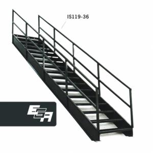 Industrial Stairways 36.4°