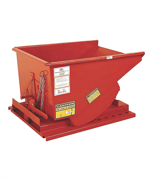 Self-Dumping Hopper 7 Gauge Steel / 7 Gauge Base