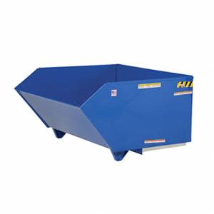 Vestil Low Profile 90 Degree Self Dumping H Style Steel Hoppers