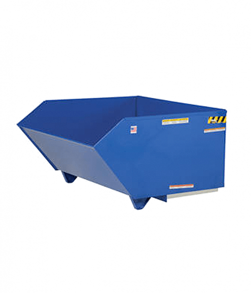 Vestil Low Profile 90 Degree Self Dumping H Style Steel Hoppers