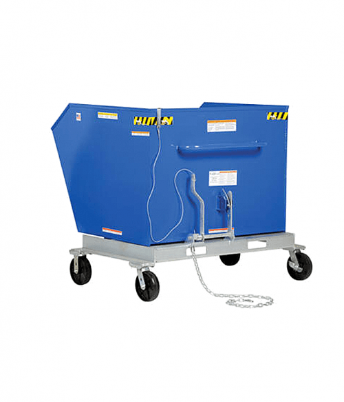 Vestil Portable Steel Hoppers