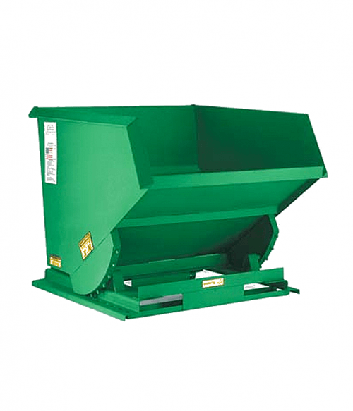 Vestil Stackable Steel Self Dumping Hoppers