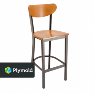 Park Avenue Kidneyback Barstools
