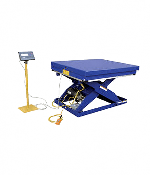 Vestil Integral Scale for Scissor Lift Tables