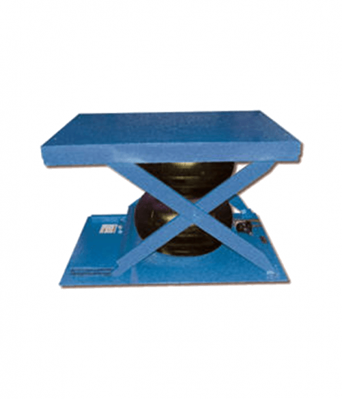 Vestil Low Profile Air Bag Scissor Lift Tables