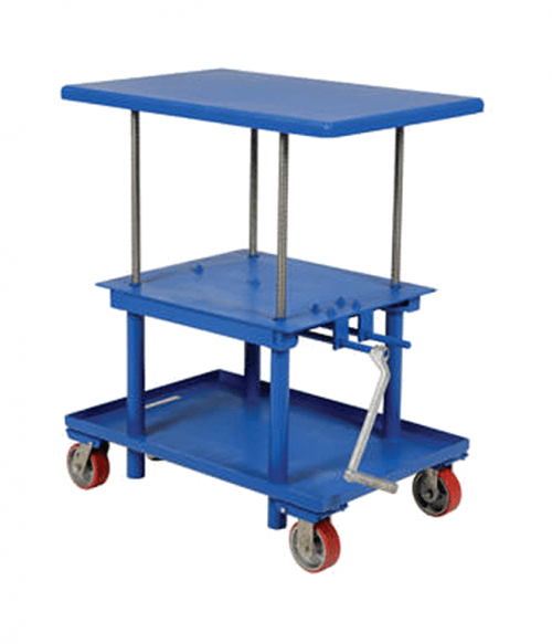 Vestil Mechanical/Electric Post Tables