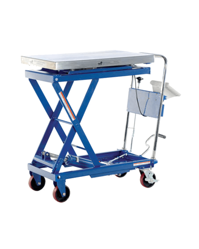 Vestil Scissor Carts with Built In Scale