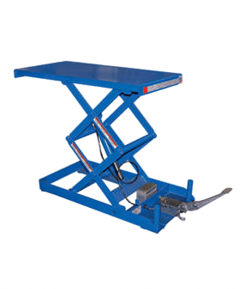 Vestil Foot Pump Scissor Lift Tables