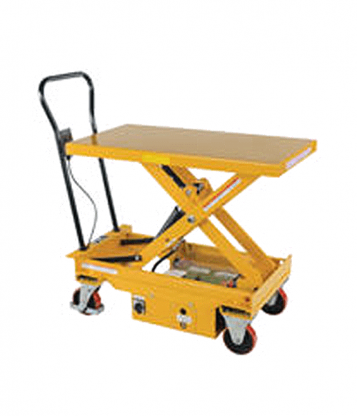 Vestil DC Powered Hydraulic Elevating Carts
