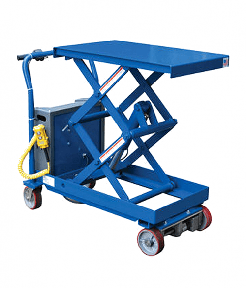 Vestil Powered Drive and Powered Lift Hydraulic Scissor Carts