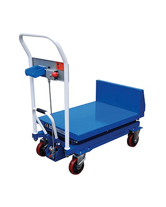 Vestil Lift and Tilt Carts with Sequence Select