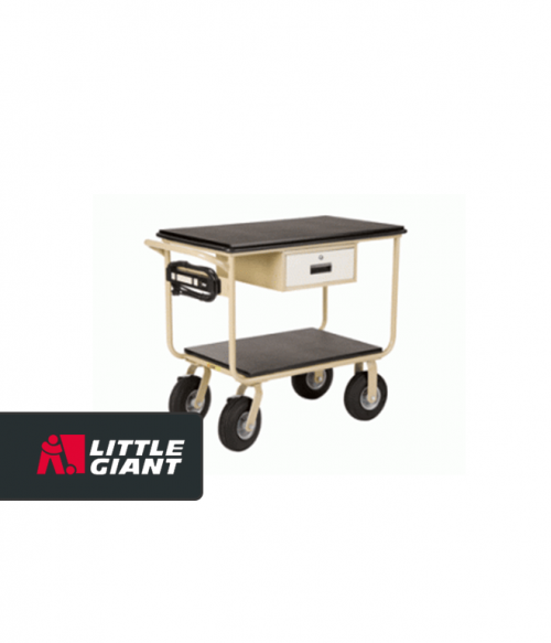 Mobile Instrument Cart with Electric Hook Up