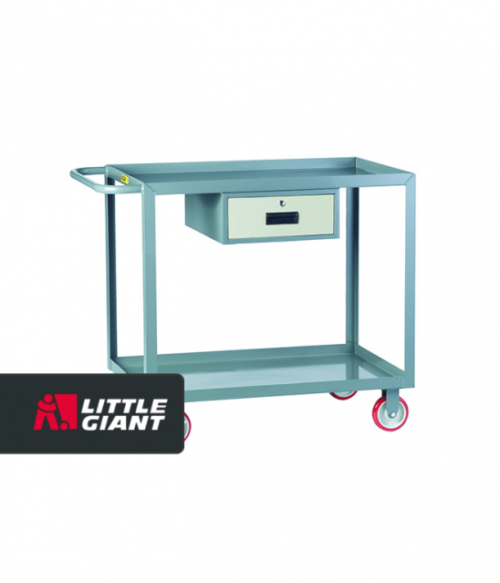 Welded Service Cart with Drawer