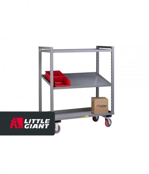 Adjustable Height Multi-Shelf Truck