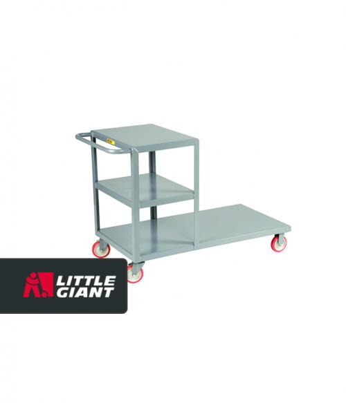 Combo Cart. Combination Shelf and Platform Truck