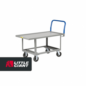 Hardboard over Steel Deck Work Height Platform Truck with Open Base