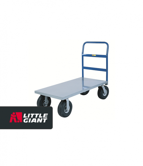 Cushion Load Platform with Pneumatic Tires