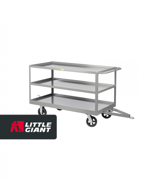 3 Shelf Caster Steer Trailer