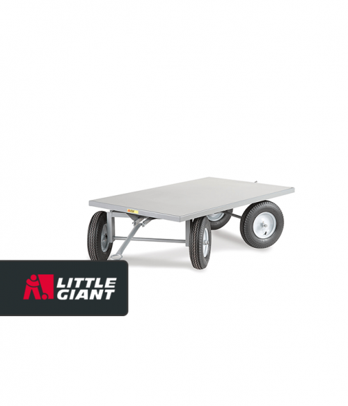 Double Fifth Wheel Tracking Steer Trailer