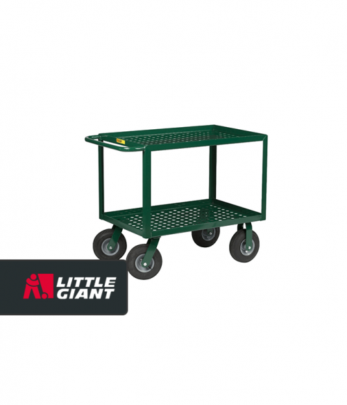 Nursery Service Cart with Perforated Deck