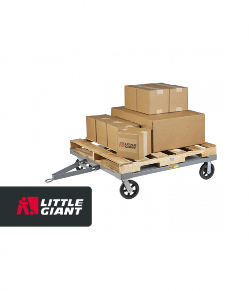 Towable Solid Deck Pallet Dollies