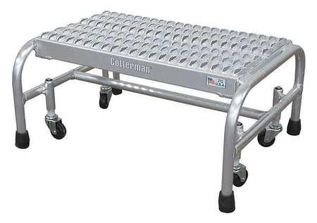 "12"" H Aluminum Rolling Ladder, 350 lb. Load Capacity"