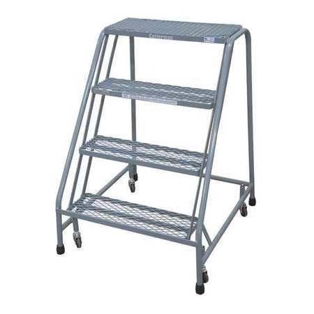 "40"" H STEEL ROLLING LADDER, 450 LB. LOAD CAPACITY"