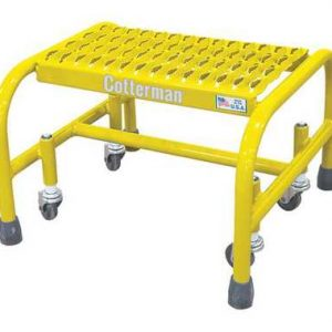 1 Ste 12 H Steel Rolling Ladde 450 lb. Load Capacity