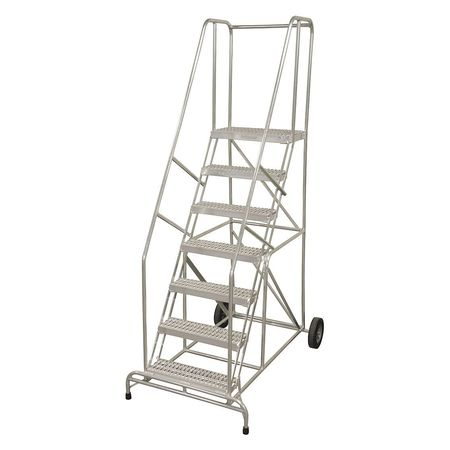 "5 STEPS, 50"" H ALUMINUM WHEELBARROW LADDER"