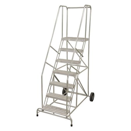 "10 Steps 100"" H Aluminum Ladder"