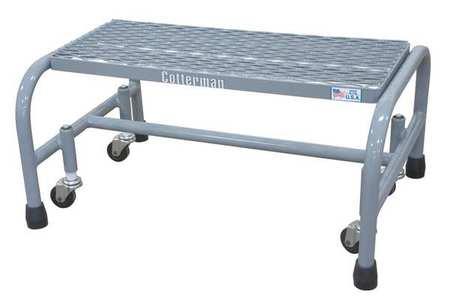 "12"" H Steel Rolling Ladder, 450 lb. Load Capacity"