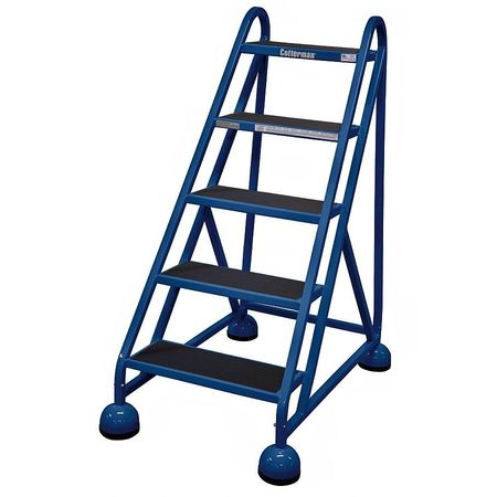 "45"" H STEEL ROLLING LADDER, 450 LB. LOAD CAPACITY"
