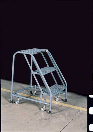 "30"" H STEEL ROLLING LADDER, 450 LB. LOAD CAPACITY"