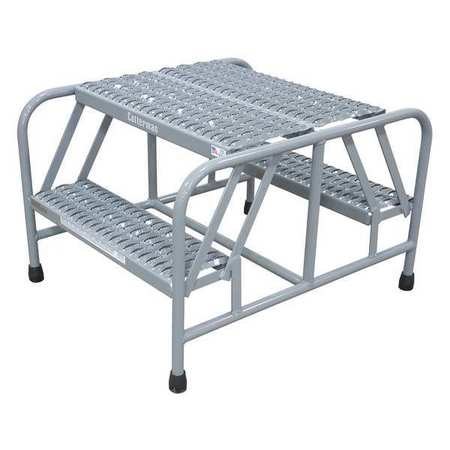 "5 STEPS, 50"" H STEEL ROLLING LADDER, 450 LB. LOAD CAPACITY"